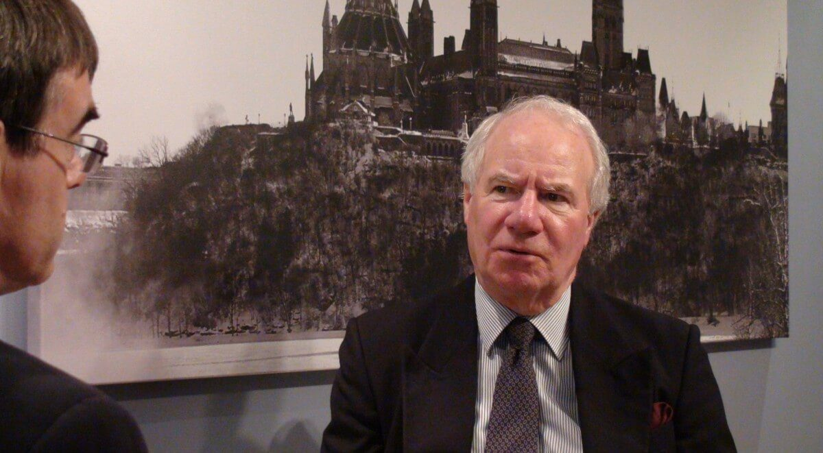 Robert Knox with John Robson