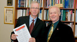 Stephane Dion with Brian Lee Crowley