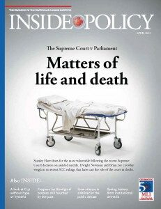 201504 APRIL Inside Policy COVER