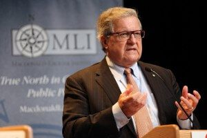 Lloyd Axworthy argues against the motion
