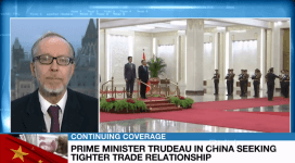 Cross, Canada-China free trade deal