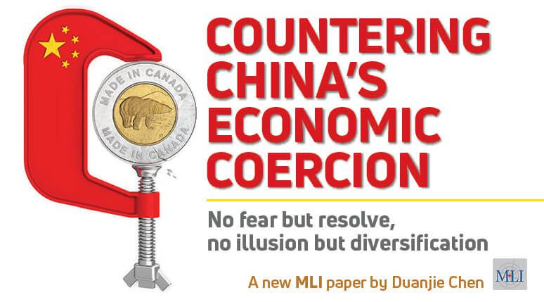 COUNTERING CHINA'S ECONOMIC COERCION: No Fear but Resolve, No Illusion but Diversification